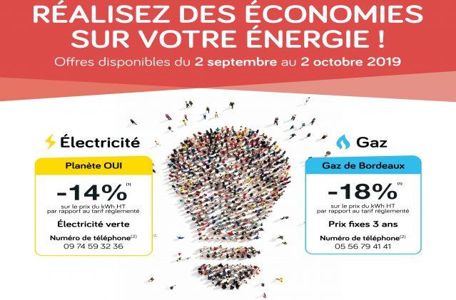 Entre le 2 septembre et le 2 octobre : faites le choix des économies d'énergie