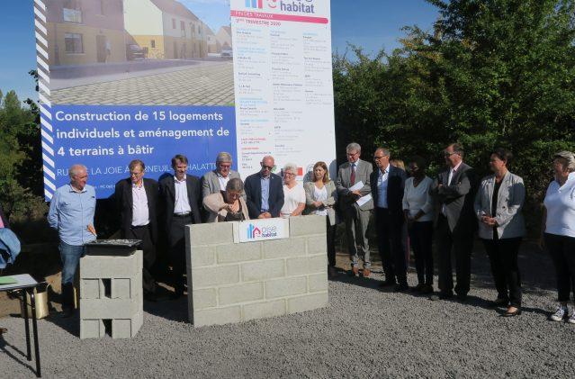 15 pavillons et 4 lots à bâtir à Verneuil-en-Halatte